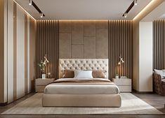 Modern bedroom design - 4 Principles for Creating the Perfect Bedroom Modern Luxury Bedroom, Luxury Bedroom Design, Bedroom Furniture Design, Master Bedroom Design, Contemporary Bedroom, Luxurious Bedrooms, Luxury Bedrooms, Bedroom Designs, Hotel Bedrooms