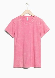 & Other Stories   Classic Fit Cotton Tee