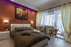 Vatican Point Break Roma Set 350 metres from Rome's Cipro Metro, Vatican Point Break offers modern en-suite rooms with free Wi-Fi and a shared terrace. The Vatican Museums are a 10-minute walk away.