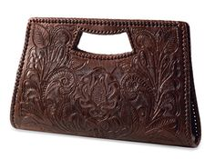 Move over, Paris - this season, we're getting our luxe handbags from a little place called Wilson, North Carolina. That's the home of Crow's Nest Trading Company, exclusive purveyors of this fabulous Tooled City Clutch