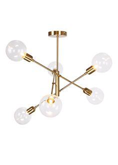 Nova Glass Semi Flush Light x – Gold - Aufenthaltsraum Semi Flush Lighting, Semi Flush Ceiling Lights, Bedroom Ceiling Lights, Living Room Lighting Ceiling, Lounge Ceiling Lights, Bedroom Chandeliers, Sputnik Chandelier, Ceiling Lamps, Gold Ceiling Light