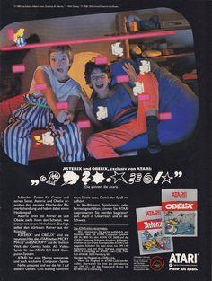 Asterix Un Obelix, Exclusiv Von Atari.