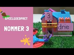 Nommer 3 - YouTube  #wiskunde #meerkatte #somme #getalle #syfer #drie #tel #getalnaam #getalname Kids Fun, Cool Kids, Youtube, Youtubers, Youtube Movies