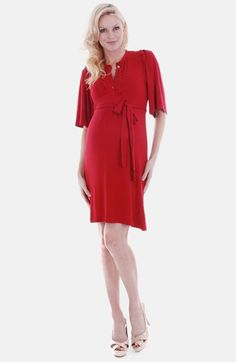 Everly Grey 'Lindsey' Maternity Dress available at #Nordstrom