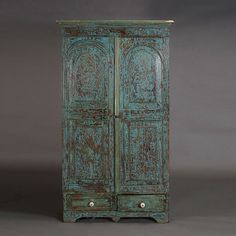 Spanish Colonial Style Two Door Cupboard