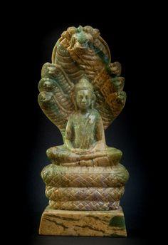 Naga Buddha, Cambodia