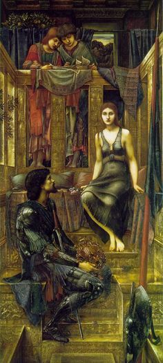 Edward Burne-Jones  King Cophetua and the Beggar Maid. God, I've always loved this picture. Look at the king!