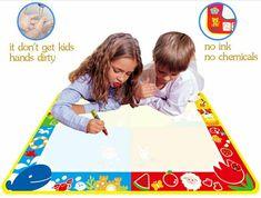 L'asterisco di oggi: tappeti e libri magici per disegnare – mamma, parliamone