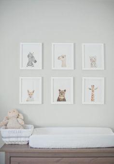 Honey We're Home: One Room Challenge :: Week 1 - A Neutral Nursery