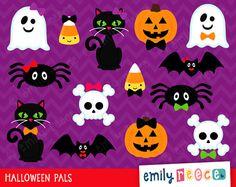 50% OFF SALE Halloween Cat Ghost Spider por EmilyReeceDesigns Halloween Rocks, Halloween Carnival, Halloween Cat, Invitation Cards, Invitations, Ghost Cat, Scrapbooking, 50 Off Sale, Art Plastique