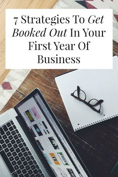 great self employment tips to get booked out in your first year even if