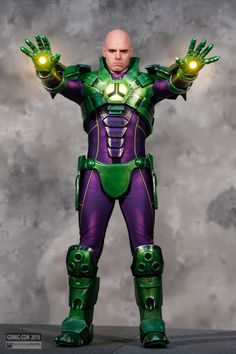 Lex Luthor in armor #cosplay