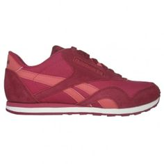 fcc73148ce0a Reebok CL Nylon Womens Running Shoe M42934 Magenta-Red-Sorbet Sorbet