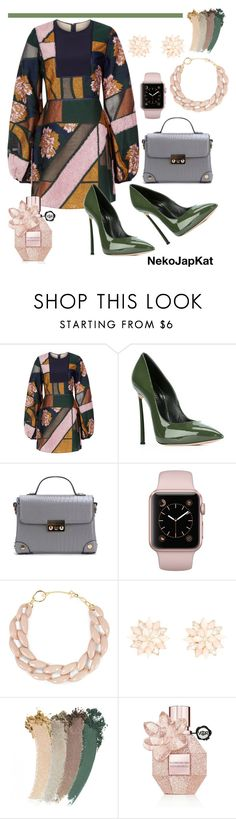 """""""bell sleeve 3"""" by neko-m-tucker-smith ❤ liked on Polyvore featuring Roksanda, Casadei, DIANA BROUSSARD, Charlotte Russe, Gucci and Viktor & Rolf"""