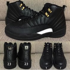 new style 77c23 11585 Air Jordan 12 The Master 2016 Release · Custom ShoesSneakers NikeNike ...