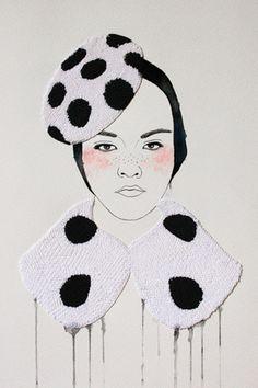 Une artiste kniteuse: Izziyana Suhaimi