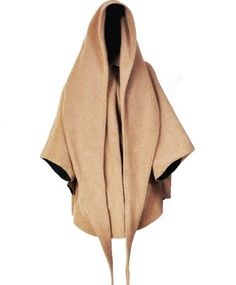 Lindsey Thornburg Camel Cloak - and this, in charcoal. So hood.