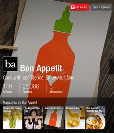 Bon Appetit - Flipboard Magazines #articles