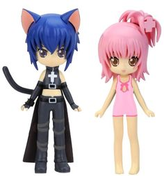 Yamato Shugo Chara! Dress-up Amu Ikuto PVC figure