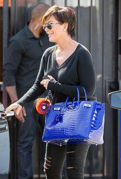 Kris Jenner Hermès Crocodile Birkin My dream owning Hermes Birkin Bag  Dorothy Johnson