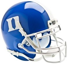 Duke Blue Devils Schutt XP Mini Helmet - Blue