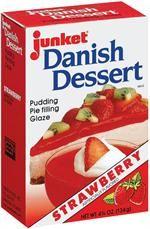 Junket Desserts Shopping Cart - Danish Dessert