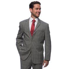 Pronto Moda Prontomoda Europa Men's Glen Suit (-36S/30W)