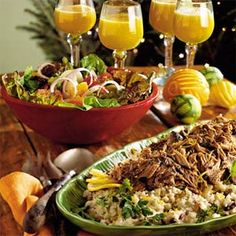 Caribbean Rice and Peas - could eat a double-batch in one sitting.  The pork recipe it's paired with is also really good.