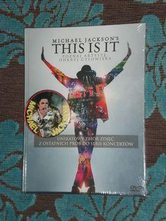 Michael Jackson This is it Cena: 39zł Pełne ogłoszenie na: http://miska-dla-schroniska.blogspot.com/2016/12/michael-jackson-this-is-it.html#more