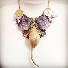 Or how about this (very) unique cat and mouse piece? We love it! #eclecticshock #jewellery #shoponline #shopping #Finnieston #valentines