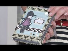 Making a Gorjuss Notebook Gift Set | docrafts Creativity TV - YouTube