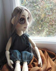 Создание полного комплекта одежды для мистической куколки из трикотажа - Ярмарка Мастеров - ручная работа, handmade