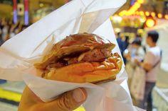 というわけでBBQチーズバーガーバンズとパティは六本木店サイズで食べ応えも十分シンプルな具材と味付けのバーガーで美味しかった #food #foodporn #meallog #burger #burger_jp #ハンバーガー # #tw
