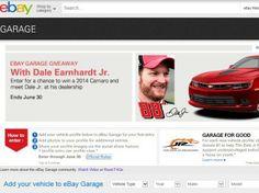 eBay Garage Dale Earnhardt Jr. Sweepstakes