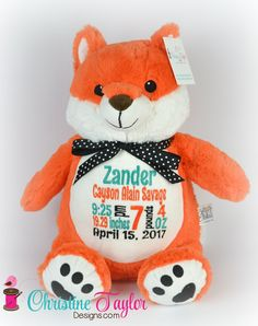 Orange Fox - Jaxon Baby Name - Ideas of Jaxon Baby Name - NEW Fox Christine Taylor Designs Baby Shower Gifts, Baby Gifts, Fox Nursery, Baby Blog, Everything Baby, Christine Taylor, Baby Boy Nurseries, Baby Decor, Future Baby