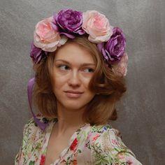 The Roses Garden collection ... věnec SLEVA   Zboží prodejce Maria  accessories 38eda52303