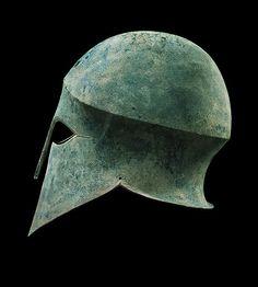 The Merrin Gallery - Corinthian Bronze Helmet