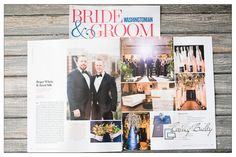 Washingtonian Magazine Features Gay Wedding Long View Gallery Washington DC