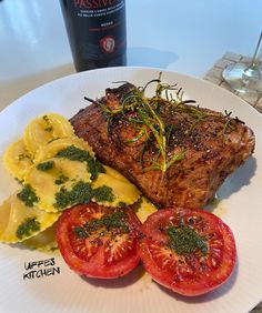 Söndag och grillning » Sevendays Pesto, Feel Good, Foodies, Steak, Lunch, Drinks, Drinking, Beverages, Eat Lunch