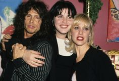 Steven Tyler, Mia Tyler and Cyrinda Foxe-Tyler at Mia's birthday party in December of (Photo by Ron Galella, Ltd. Mia Tyler, Steven Tyler Aerosmith, Elevator Music, Creedence Clearwater Revival, Old Rock, Western Girl, Music Heals, Wife And Girlfriend, Walk This Way