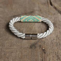 Blaue Armband Samen Perlen Armband Geschenk für von Naryajewelry