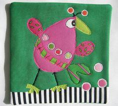 Wonky #2 Bird Mug Rug | Flickr - Photo Sharing!