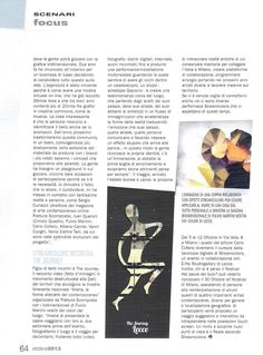 """Sul numero di ottobre 2013 della Rivista Graph del Sole 24Ore un lungo articolo dal titolo """"Il DNA del bello"""" racconta il progetto Streamcolors. Pag. 64 #arte #moda #design"""