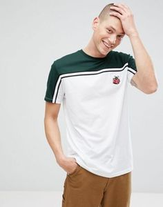 ASOS Longline T-Shirt With Piggy Bank Embroidery
