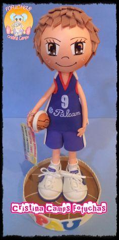Cristina Camps Fofuchas: fofucho baloncesto