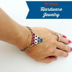 diy hardware jewelry