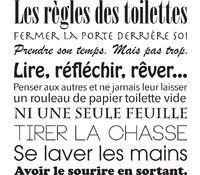 Les règles des toilettes - 4