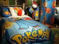 Une chambre Pokémon
