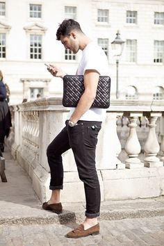 The menstyle blog • Love this look. Simple and sleak. Follow instagram...