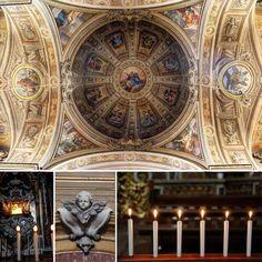 """Detalhes da igreja em Ferrara - """"A Cidade Medieval de Ferrara"""" by @aprendizdeviajante"""
